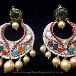 Gold Plated Hyderabad Chandbali Earrings