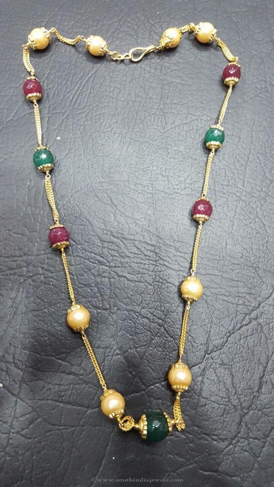 Imitation Gemstone Mala from RS Designs
