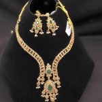 Latest Model Designer Emerald Necklace