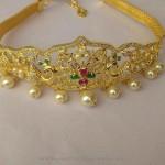 One Gram Gold Stone Armband