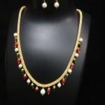 Beaded Imitation Necklace Design