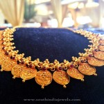 Traditional Gold Coin Necklace from Manubhai
