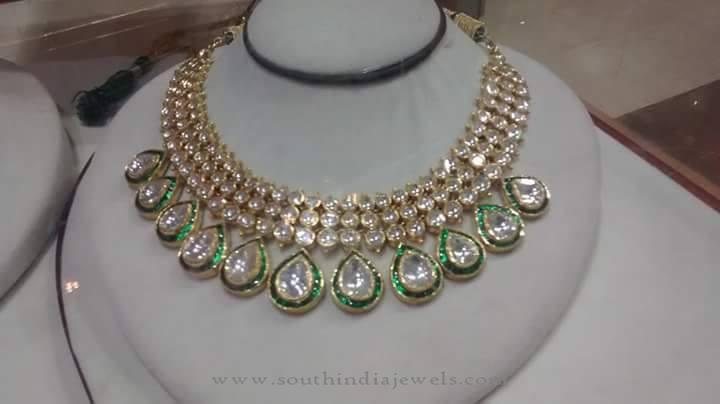 Beautiful White Stone Necklace Set