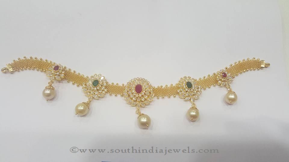 Gold Dandpatti Designs