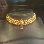 Gold Light Weight Choker Prakruthi