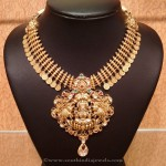 22K Gold Temple Coin Necklace from NAJ