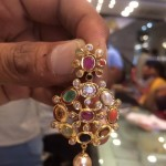 8 Grams Gold Navarathna Pendant