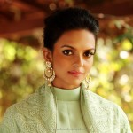 Designer Indian Gold Chandbali Earrings