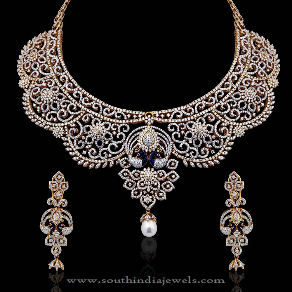 Diamond Bridal Necklace from NAC Jewellers