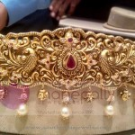 Gold Vadanam from Manepally Jewellery