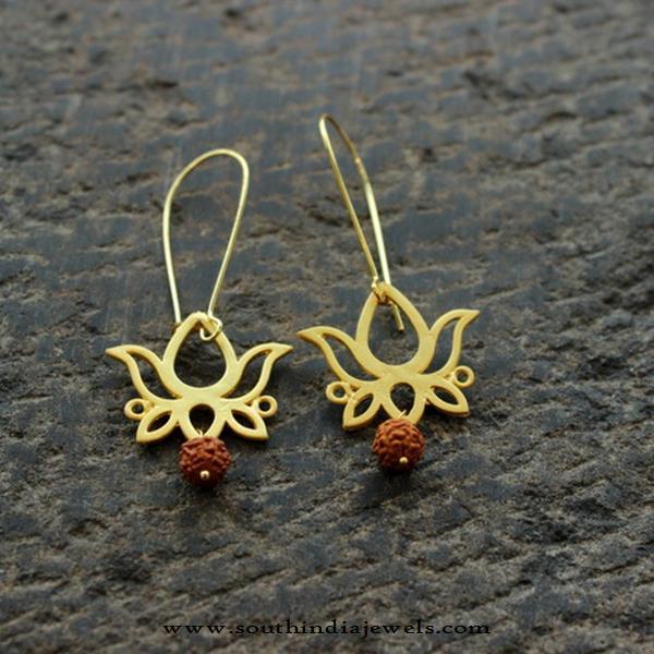 Imitation Fancy Lotus Earrings