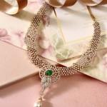 Indian Diamond Necklace set