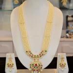 Traditional Pearl Long Haram Design