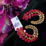 Designer Ruby Ear Stud