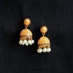 Imitation Antique  Jhumka from Aatman