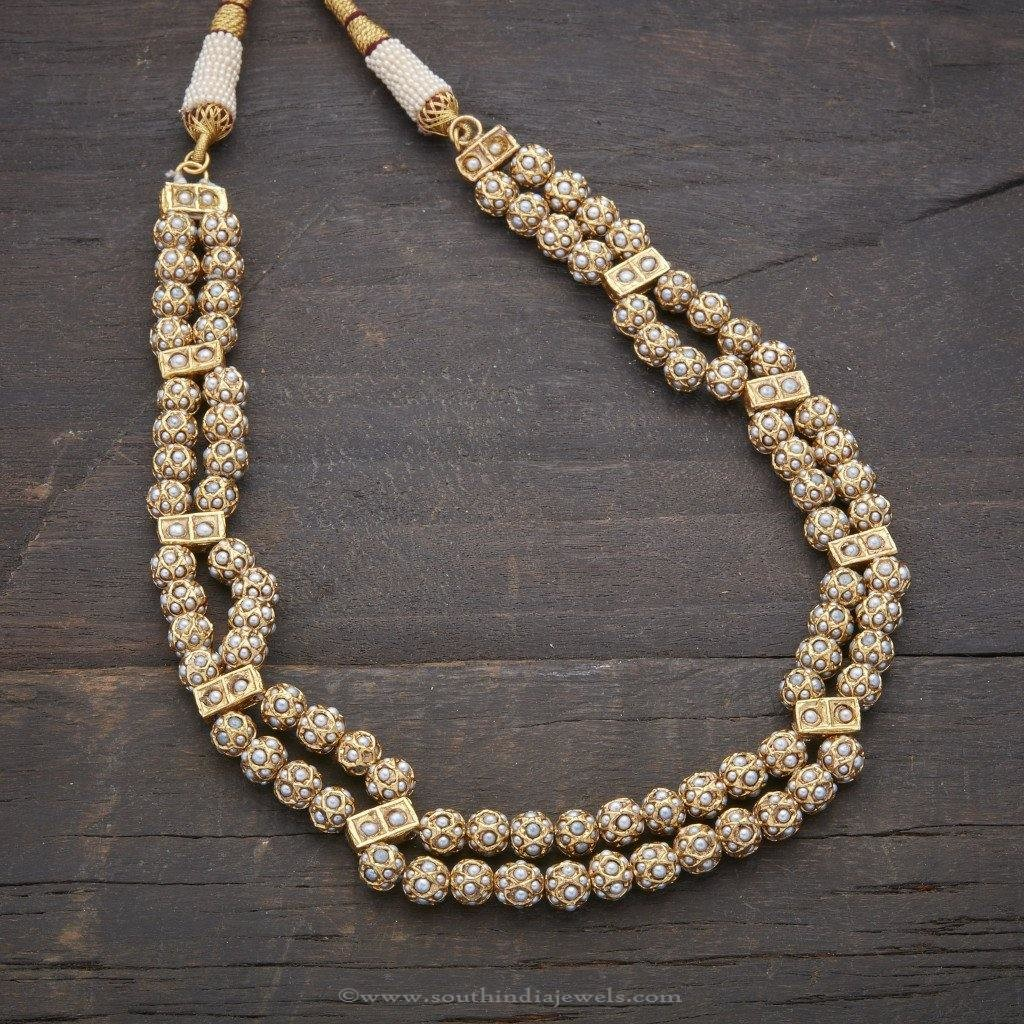 Designer Antique Pearl Necklace
