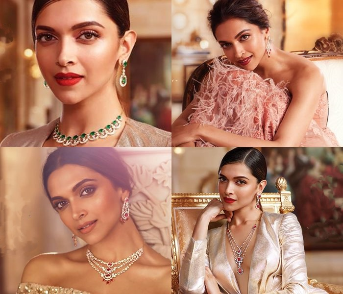 Deepika Padukone For Tanishq Queen of Hearts Diamond Jewellery Collections