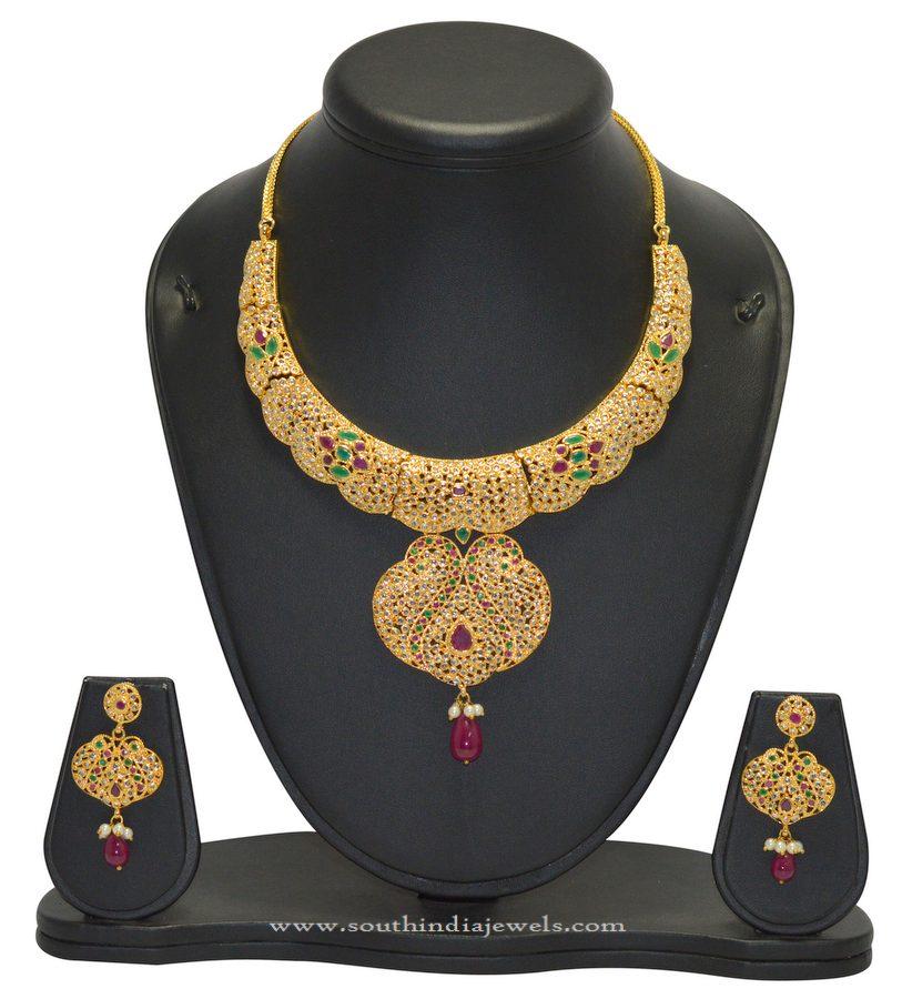 Fake Imitation Gold Necklace Seet
