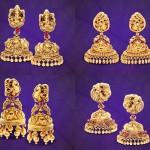 GRT Jewellers Wedding Jhumka Collections