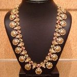 Gold Antique Nakshi Haram from NAJ Jewellery