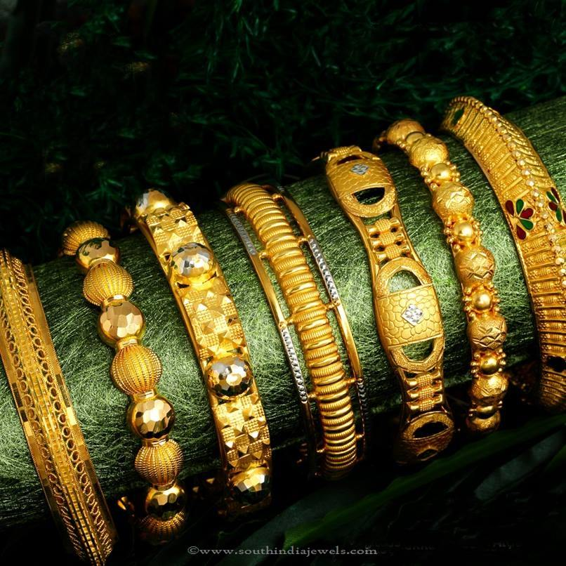 Gold Bangle Designs from Jos Alukkas