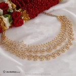 Gold Diamond Necklace Design from Jos Alukkas