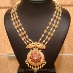 Gold Nakshi Work Aaram from Naj
