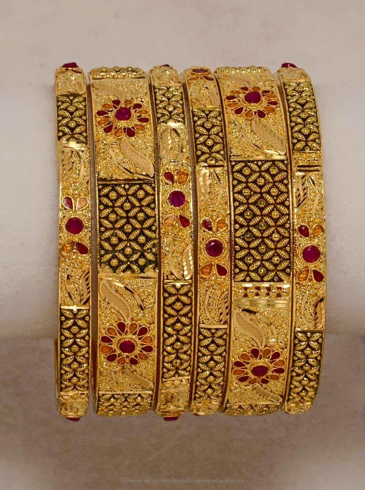 Gold Plated Bangle From Amore