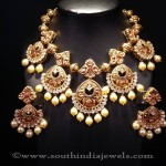 Heavy Gold Antique Necklace from Mor Jewellers
