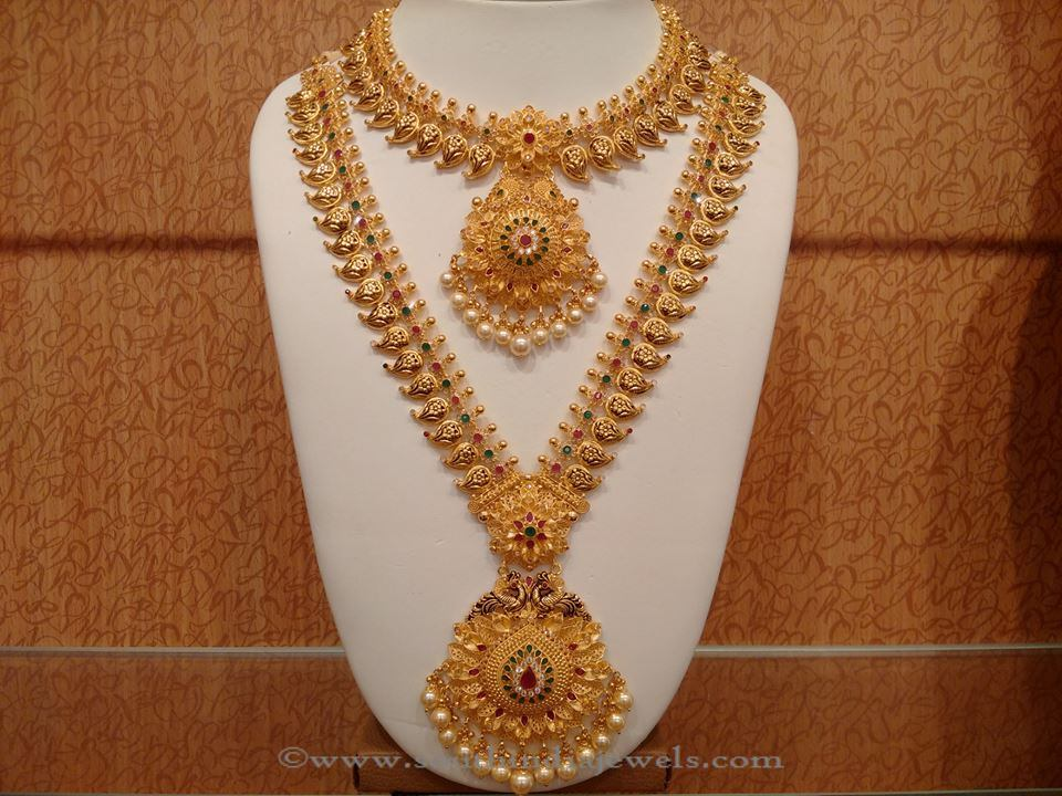 Latest Indian Bridal Necklace set from NAJ