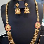 Multilayer Haram with Ruby Side Locket