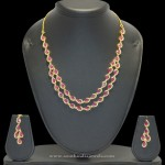Multilayer Ruby Necklace Model