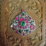 Silver Ruby Pendants from Arnav