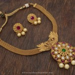 1 Gram Gold Antique Necklace with Price