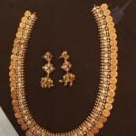 100 Grams Gold Coin Necklace