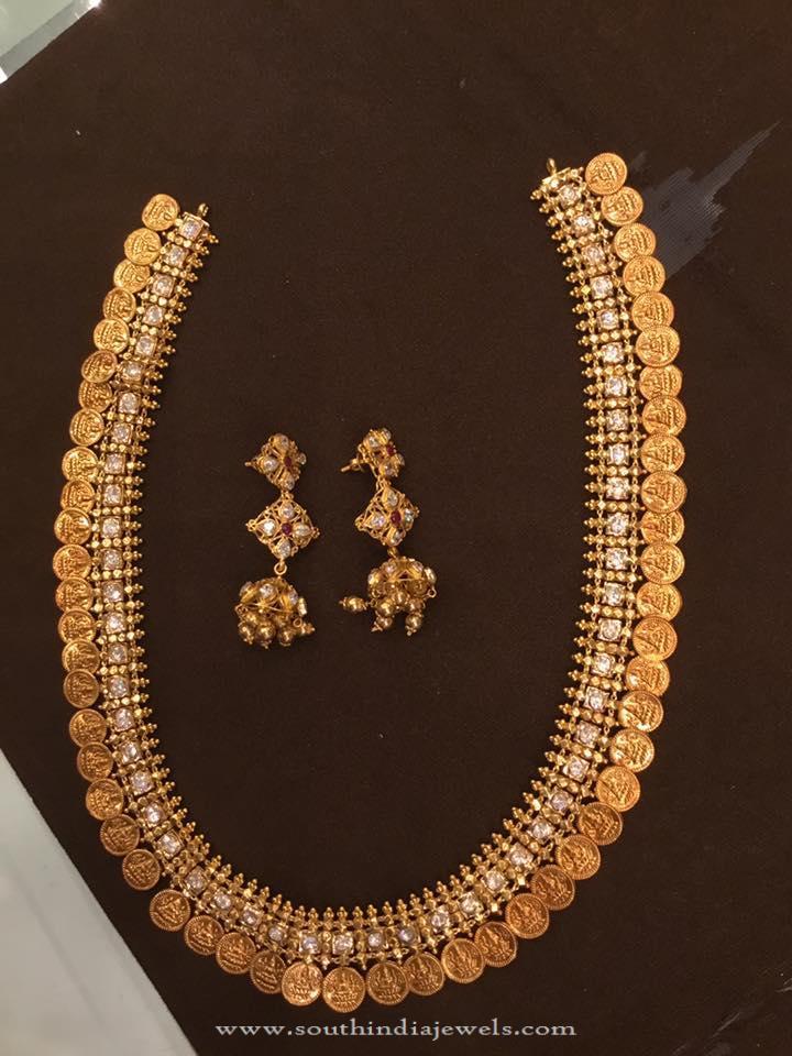 100 Grams Gold Coin Necklace