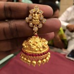 40 Grams Gold Lakshmi Jhumka