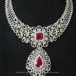 Indian Bridal Diamond Necklace Set