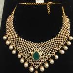 Designer Indian Diamond Necklace Set