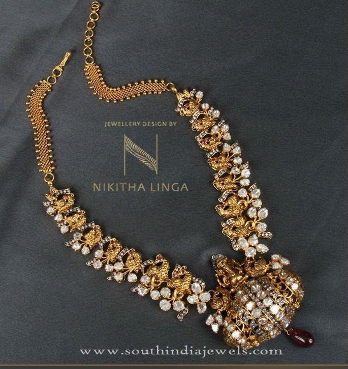 Designer Gold Antique Necklace Sets
