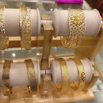 Designer Gold Bangles for Weddings