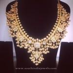 Gold Guttapusalu Necklace from Parnicaa