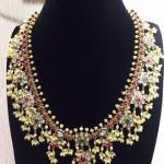Gold Guttapusalu Necklace from Vithaldas Jewellers