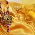 Gold Bridal Jewellery Collections From Prakruthi