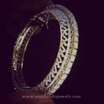 Huge Diamond Bangle from Parnicaa