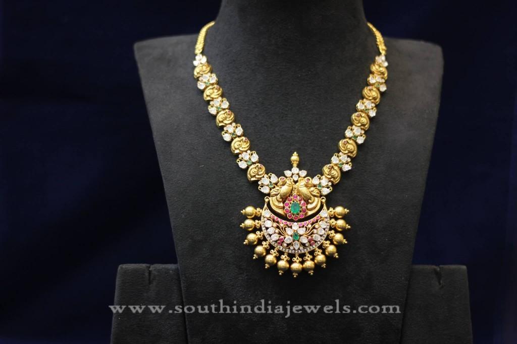 Indian Antique Jewellery Necklace Design