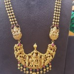 Indian Temple Jewellery Necklace Design