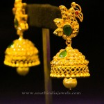Indian Gold Traditional Jhumka Design