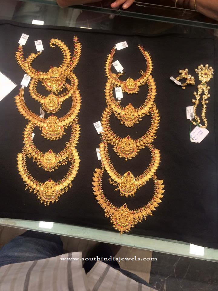 Latest Model Temple Necklace Collection 2016