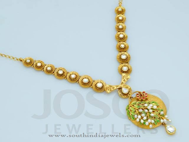 22K Gold Necklace Designs from Bosco Jewellers
